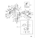 Carb(9.9/15)(usa-s/n-0g112450/bel-s/n-9831800 & up)