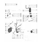 Str mtr,str solenoid,rectifier and wiring harnes(merc 1100e)