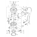 Flywheel magneto (s/n-m-100130/ml-402040 & below)