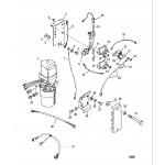 Hydraulic pump and mounting brackets