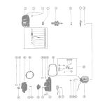 Magneto assembly (internal parts)