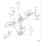 Carburetor, all models-serial # 0r318096 thru 0r448032