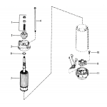 Starter motor assembly