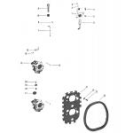 Carburetor linkage and choke solenoid
