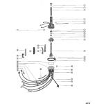 Distributor housing and rotor