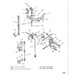 Anchor bracket(non seapro/marathon) (s/n-0g303045 & below)