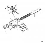 Steering attaching kit