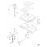 Fuel tank, non-epa models-serial # 0r448033 and up
