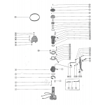 Distributor adaptor and vertical linkage