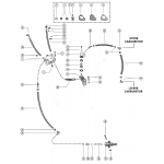 Fuel pump, fuel filter and fuel lines (serial group no. 13)
