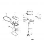 Adaptor plate/shift shaft