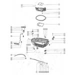 Bottom cowl and adaptor plate