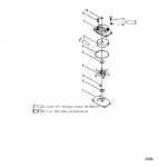 Jet water pump components