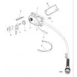 Key, choke and horn kit, 15000a14