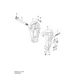 Clamp bracket (df50avt e03)