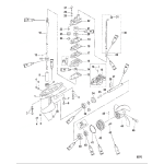 Gear housing assembly(3.3 hp)