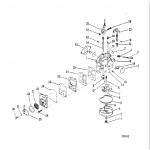 Carburetor(tillotson stamped 1364-7902 or 1364-7909)