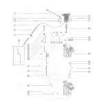 Caburetor linkage and choke solenoid