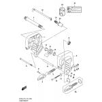 Clamp bracket (df9.9b)(df15a)(df20a)