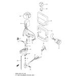 Ptt switch/engine control unit (df200t e03)