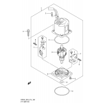 Ptt motor transom(x) (df200z e03)