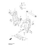 Clamp bracket transom(l)
