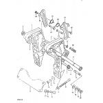 Clamp bracket (dt 50 electric start)