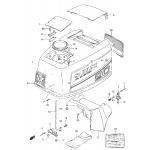 Engine cover (dt90 ~model:94)