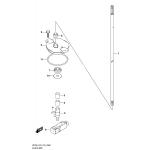 Clutch rod (df225t)(df250t)