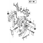 Clamp bracket (dtglfe13 etc)