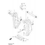 Clamp bracket (df175t e03)