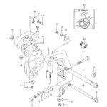 Clamp bracket (model:95~00)