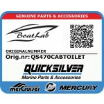 Quicksilver, QS470CABIN (Orig.nr: QS470CABTOILET)