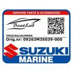 Suzuki, Bearing, 2Nd Gea.Nee.A1K310/412 (Orig.nr: 09263M35039-000)