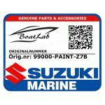 Suzuki, Adriatic Blue Metallic (Orig.nr: 99000-PAINT-Z7B)