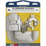 TecnoSeal, Anode kit, Mercruiser for Alpha one (Gen.II), Aluminium - 1 Sæt