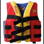 Base Watersport, Vandskivest, 40-50kg. (XS), Gul,Rød,Blå - 1stk.