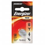 Energizer, Knapbatteri, CR1632, Lithium (3V) - 1stk.