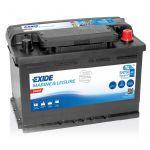 Exide, EN750, Startbatteri (74 Amp) - 1stk.