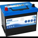 Exide, ER350 EXIDE DUAL, Batteri (80 Amp) - 1stk.