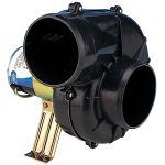 Jabsco, Motorrumsventilator, Flexmontering, 12V (230x240x250mm) - 1stk.