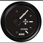 KUS, Trimindikator, Sort (0-190 Ω), 12-24V - 1stk.