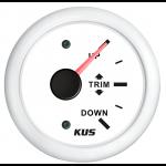 KUS, Trimindikator, Hvid (0-190 Ω), 12-24V - 1stk.