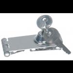 Låseoverfald, Låsbar, Rustfrit stål (A4) (74x30mm) - 1stk.