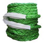 Trosse, Superflex, Grøn, Kvadratflettet, (32mm/110m) - 1 Rulle