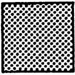Svampegummi, Medium, Mørke grå, NR gummi (10x10mm) - Løbende meter