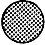 Svampegummi, Medium, Mørke grå, NR gummi (Ø6mm) - Løbende meter