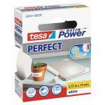 Tesa, Lærredstape, Extra Power Perfect, Hvid (19mm/2,75m) - 1 Rulle