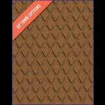 TreadMaster, Skridbelægning, Diamond, Plade, Brun, (1200x900x3mm) - 1stk.