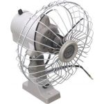 Ventilator, Med drejefunktion, PVC (24V/15W) - 1stk.